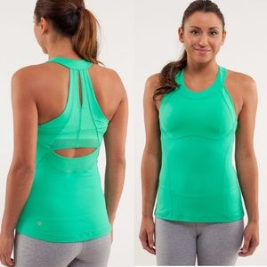 Lululemon Make It Count Tank-Luxtreme Fresh Teal